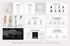 Neue Minimal PowerPoint Template by SlidePro on @creativemarket
