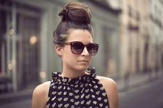 a top knot
