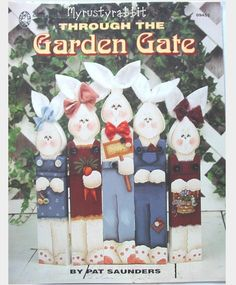 Through The Garden Gate Pat Saunders Tole Painting Book   eBay