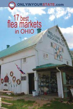 Travel | Ohio | Flea Markets | Vintage | Shopping | Unique Finds | Hidden Treasures