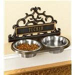 Personalized Wall-Mount Pet Feeder | Gifts $75 - $100