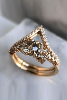 33 TOP Engagement Ring Ideas ❤️ top engagement ring ideas pave band unique wedding band rose gold ❤️ See more: http://www.weddingforward.com/top-engagement-ring-ideas/ #weddingforward #wedding #bride #engagementrings