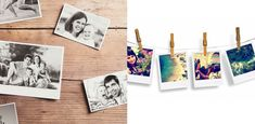 10 DIY Foto-Ideen: SO könnt ihr eure Bilder kreativ in Szene setzen! Diy Foto, Picture Wall, Sea Shells, Diy Home Decor, Polaroid Film, Gallery, Pictures, Decoration, Photos