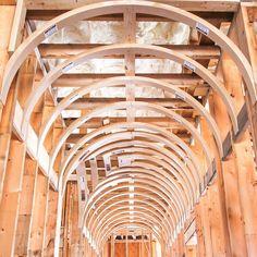 Barrel Vault Ceiling Systems | Prefabricated Barrel ...