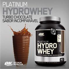 PLATINUM HYDRO WHEY da Optimum Nutrition! A Platinum Hydro Whey é a Mais Rápida Absorção, Mais Pura, Mais Avançada Proteína do Soro de Leite Hidrolisada que já foi desenvolvida! Contém Enzimas Digestivas e ACTITOR para uma Melhor Utilização da Proteína! 30g de Proteína, +11g de BCAA e Glutamina e 0% Lactose!