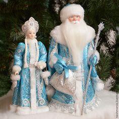 Купить 2. Снегурочка с варежками - серебряный, мороз, Новый Год, под елку, новогодняя игрушка