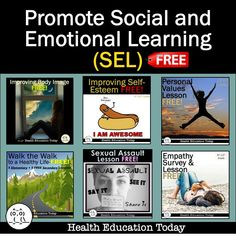 When Adding Sel To Curriculum >> 250 Best Health Curriculum: *FREE* Health Lessons for ...
