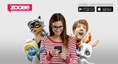 Zoobe is a mobile animated avatar messaging application for iOS and Android  devices. Zoobe uses patented speech recognition technology to lip synch a  recorded voice message with an emotive avatar, which when laid over any  background image or photo, instantly creates a unique video message,  viewable both on device and online via a shareable URL. Zoobe uses cloud  based services for image processing and posting of messages, using minimal local on device disk space. In addition to…