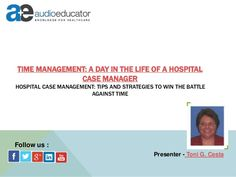 a day in the life of a manager case study