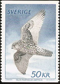 Gyrfalcon stamps - mainly images - gallery format