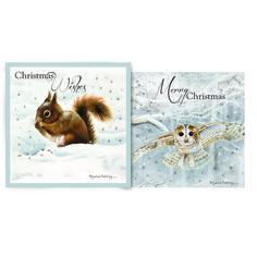 Snow Is Falling Christmas Cards // Christmas 2016 at the Owl Barn