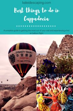 Get practical travel tips, guides, and inspiration to help you plan an amazing trip to Cappadocia, Turkey, including how to book a hot air balloon ride! Stuff To Do, Things To Do, Stay In A Castle, All Ride, Balloon Flights, All Flights, Cappadocia Turkey, Underground Cities, Air Balloon Rides