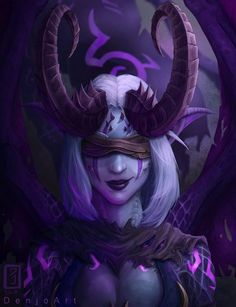 Finished commission of Moonglaive the night elf demon hunter. I love drawing rough textures like horns and wings, still learning how to draw skin right though! Fantasy Demon, Dark Fantasy Art, Fantasy Girl, Final Fantasy, Fantasy Character Design, Character Inspiration, Character Art, Warcraft Art, World Of Warcraft