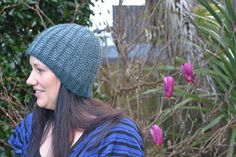 Shortly's Botanic Hat by Stephen West in Mythral #westknits #knitting