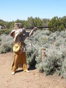 Blackpowder, muzzle loader rifle