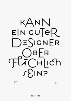 Designscheiß — Jan König explores the meaning of design with a syncopated Estilo.