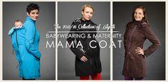 Mama Coat | Babywearing Coat Softshell | Liliputi®