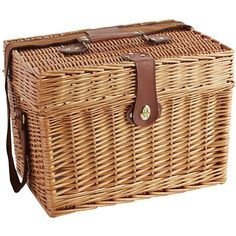 Pier 1 Imports Willow Picnic Basket - Large ($60) ❤ liked on Polyvore featuring home, kitchen & dining, food storage containers, picnic, picnic tote, picnic basket, willow picnic basket, pier 1 imports and picnic hamper