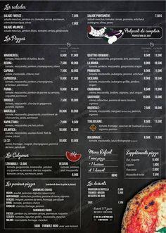 Pizzeria d' Alexis à Toulouse, carte-menu et photos