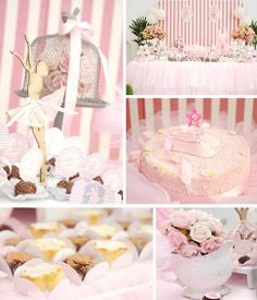lovely ballet themed birthday party