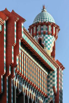 Antoni Gaudi Casa Vicens in Barcelona Restored by Martinez Lapena Torres Arquitectes & Daw Office | Yellowtrace