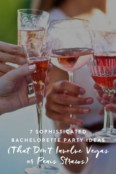 7 Sophisticated Bachelorette Party Ideas (That Don't Involve Vegas or Penis Straws) Classy Hen Party, Classy Bachelorette Party, Bachelorette Gifts, Bachelorette Party Decorations, Bacherolette Party, Party Prizes, Party Ideas, Bridezilla, Straws