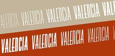 Font Inspirations: Valencia [Free Download]