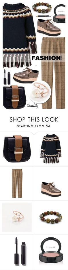 """""""Fall Fashion - Dresslily 11"""" by cly88 ❤ liked on Polyvore featuring RED Valentino, Uniqlo, Chanel, MAC Cosmetics and Nudestix"""
