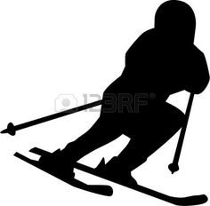 Illustration of Silhouette set of different winter sports skiing part 1 vector art, clipart and stock vectors. Vector Art, Skiing, Darth Vader, Clip Art, Sporty, Silhouette, Stock Photos, Illustration, Creative