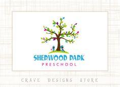 Premade Kids Logo Design School Logo by CraveDesignsStore on Etsy