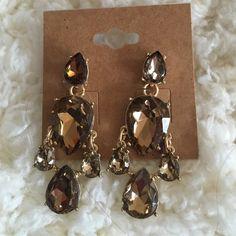 teardrop earrings Crystal teardrop earrings- 15% off bundles 3+ Jewelry Earrings