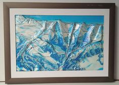 Map of Zakopane mountains, produced on UZLEX Vacuum Forming Machinery. Great product for tourists and home interior. 3d Poster, Vacuum Forming, Surface, Map, Mountains, Interior, Artwork, Work Of Art, Indoor