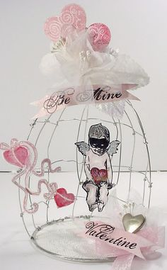 Caged Cupid      Very Different/ could make larger.......off in my head!!!