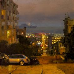 Jeremy Mann, 1979 ~ Cityscape/Figurative painter   Tutt'Art@   Pittura * Scultura * Poesia * Musica  