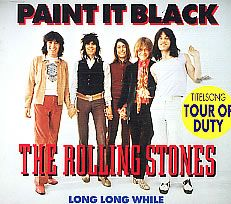 """For Sale - Rolling Stones Paint It Black Netherlands CD single (CD5 / 5"""") - See this and 250,000 other rare & vintage vinyl records, singles, LPs & CDs at http://eil.com"""