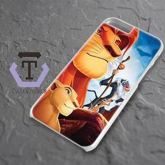 Simba And Friend The Lion King iPhone 6 Plus|iPhone 6S Plus Black Case