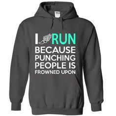 I RUN T Shirts, Hoodie