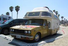 Yoyota mystery Chinook camper