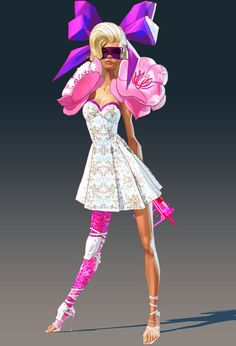 SUNSET OVERDRIVE Character Design FASHION by LeeroyVanilla