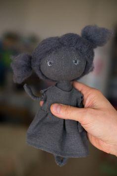 Lalka Lalka sztuki tkaniny ręcznie lalki przez totootse na Etsy