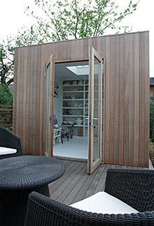 London Garden Studios- great for home office or mancaveho #homeoffice #mancave
