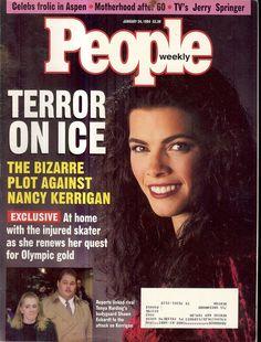 People Magazine Nancy Kerrigan Tonya Hardy John F Kennedy Jr 1 24 94 | eBay