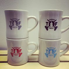 Diner mugs #thrivefarmers #coffee