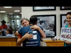 Healing PTSD One Hug At A Time; The Human Hug Project