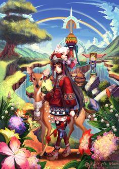 Amazing Manga Illustrations by Han-Yuan Yu