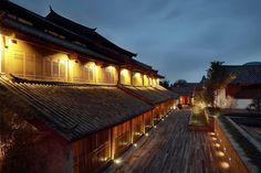 Amandayan at dusk - Amandayan Palace, China