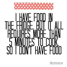The struggle is real #ineedafoodfairy #whycantfoodmakeitself #PYPbellylaughs #pickyourplum #funnyquotes #cleanhumor Follow @pickyourplum on IG for more laughs. And check out our Daily deal site for screaming good deals! www.pickyourplum.com