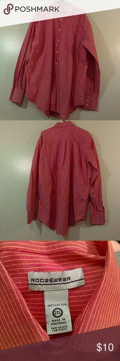 Men 2XL long-sleeved RocaWear shirt No defects Rocawear Shirts