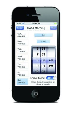 Remote Control Blinds {What?!} Extend the life of your blinds and be able to open them when you want from your iPhone or iPad