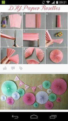 Folding Paper Fans Paper Craft Paper Crafts Paper Fans Paper